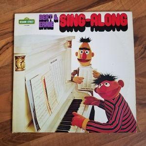Sesame Street Bert and Ernie Sing-A-Long LP 1975 V